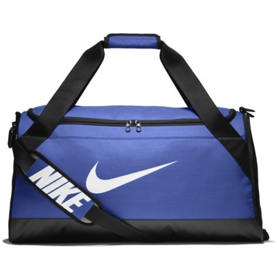 Nike Brasilia 6 Duffel Bag Black White Size Medium - Best Model Bag 2018 c9db0818bad41