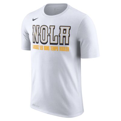 NBA-t-shirt New Orleans Pelicans City Edition Nike Dri-FIT för män
