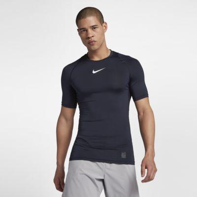 Kortärmad träningströja Nike Pro för män