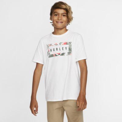 Hurley Premium Flashback Floral Boys' T-Shirt