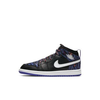 Jordan 1 Mid SE Little Kids' Shoe (10.5c-3y)