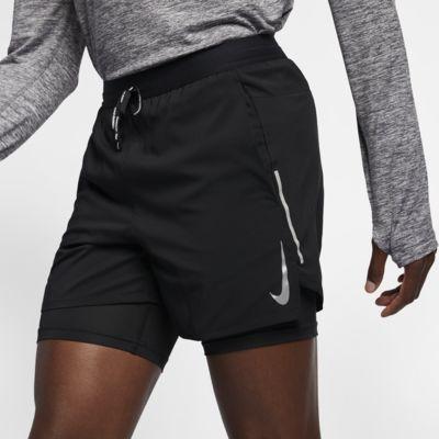 Męskie spodenki do biegania 2 w 1 13 cm Nike Flex Stride