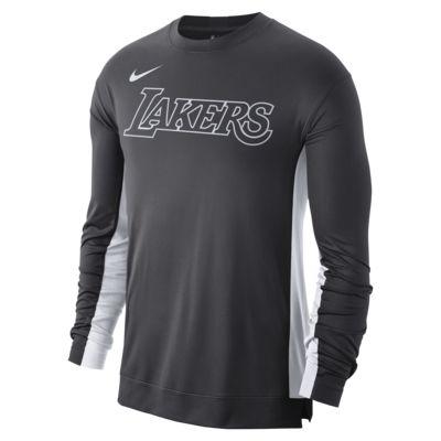 Haut d'entraînement NBA Los Angeles Lakers Nike Dri-FIT pour Homme