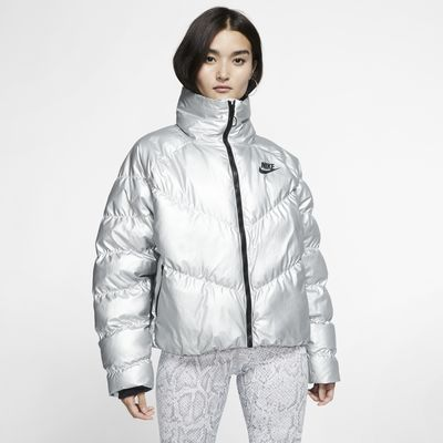 Veste brillante Nike Sportswear Synthetic Fill pour Femme