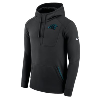 Nike Fly Fleece (NFL Panthers) kapucnis, belebújós férfipulóver