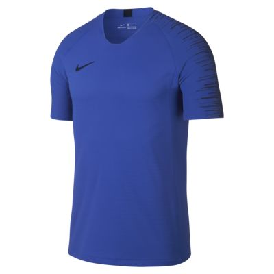 Top de fútbol de manga corta para hombre Nike VaporKnit Strike