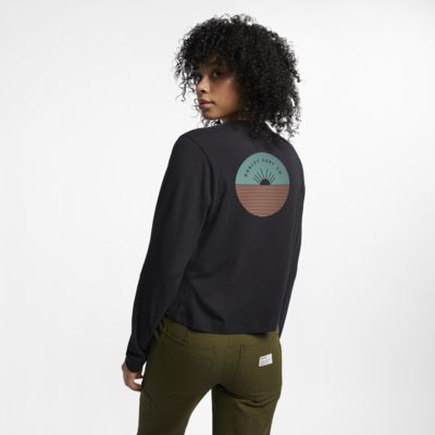 Hurley Horizon Perfect Women's Long-Sleeve T-Shirt