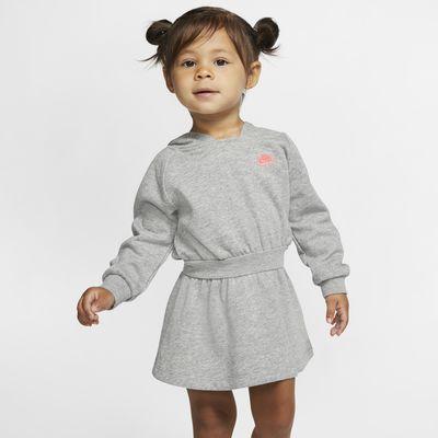 Nike Sportswear Baby (12-24M) Long-Sleeve Hooded Dress