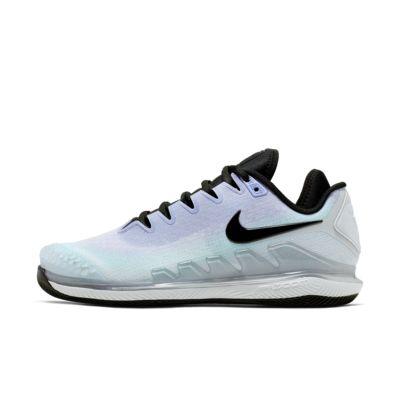 NikeCourt Air Zoom Vapor X Knit tennissko for hard court til dame