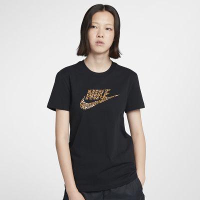 Nike Sportswear Animal Print T-skjorte til dame