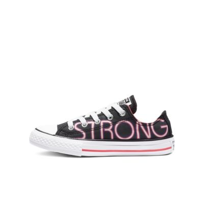 Chuck Taylor All Star Pretty Strong Low Top Big Kids Shoe