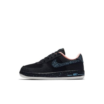 Nike Air Force 1 Pinnacle QS Boys Lifestyle Shoes Black/Blue/White lM2110L