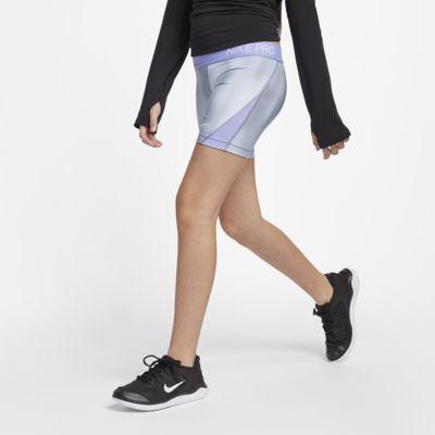 Nike Pro Big Kids' (Girls') Printed Training Boyshorts