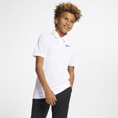 Golfová polokošile Nike Dri-FIT Victory pro větší děti (chlapce)