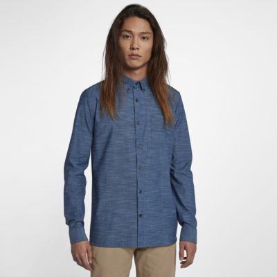 Hurley One And Only  Men's Long-Sleeve Shirt