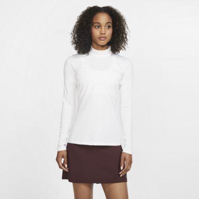 Damska koszulka do golfa z długim rękawem Nike Dri-FIT UV