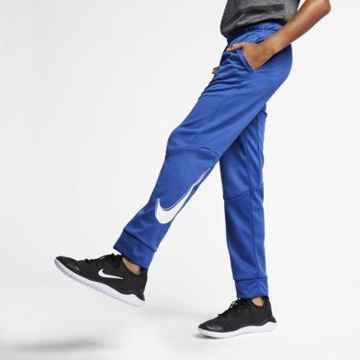 Nike Dri-FIT Therma treningsbukse til store barn (gutt)