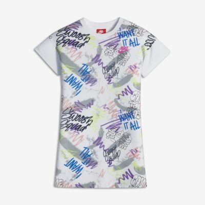 Nike Sportswear Younger Kids' (Girls') Glow-In-The-Dark Dress