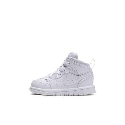 Sko Air Jordan 1 Mid för baby/små barn