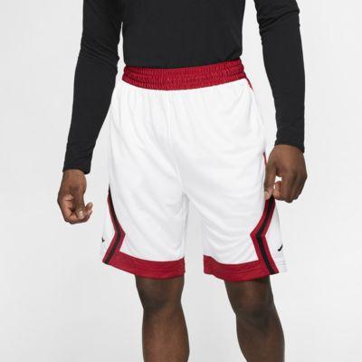 Stribede Jordan Jumpman Diamond-basketballshorts til mænd
