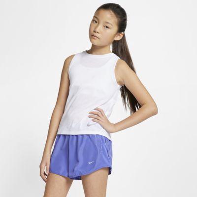 เสื้อกล้ามวิ่งเด็กโตพิมพ์ลาย Nike (หญิง)