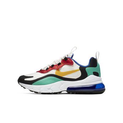 Nike Air Max 270 React(GS) 大童运动童鞋
