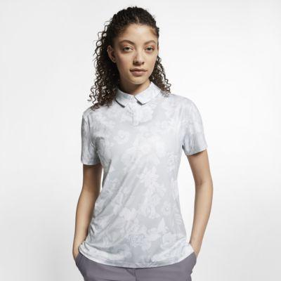 Женская рубашка-поло с принтом для гольфа Nike Dri-FIT UV