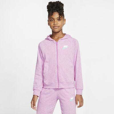 Nike Sportswear Big Kids' (Girls') Full-Zip Hoodie
