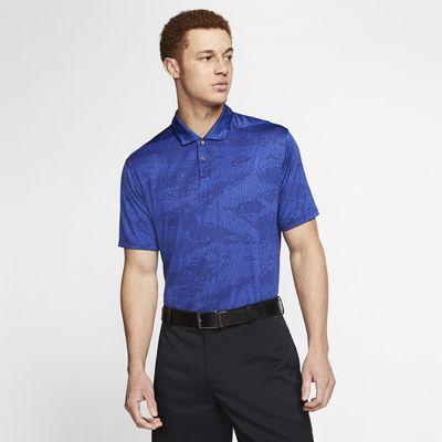 Nike Dri-FIT Vapor golfskjorte med kamomønster til herre