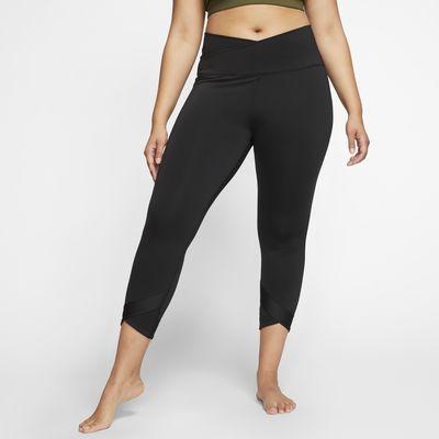 Nike Yoga 7/8-os testhezálló női nadrág (plus size méret)
