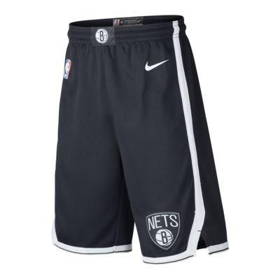 Shorts Brooklyn Nets Icon Edition Nike NBA Swingman för ungdom