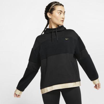 Nike Icon Clash Fleece-Trainings-Hoodie für Damen