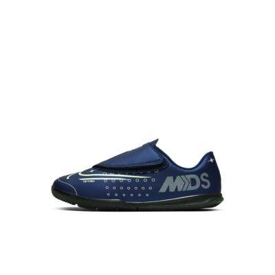 Calzado de fútbol para cancha cubierta para niños talla pequeña Nike Jr. Mercurial Vapor 13 Club MDS IC