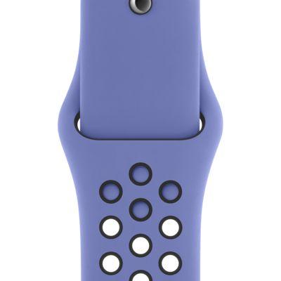 Pasek Sport Band 40 mm w kolorze królewskiego lazuru / czarnym do zegarka Apple Watch Nike