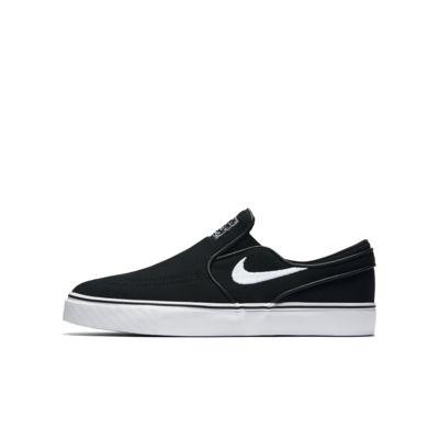 Nike SB Stefan Janoski Canvas Slip-on Big Kids' Skateboarding Shoe