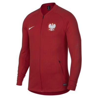 Poland Anthem fotballjakke for herre