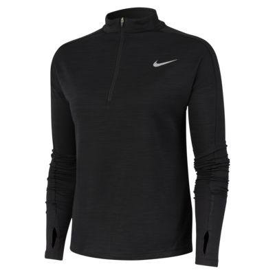 Top de running de medio cierre Nike Pacer para mujer