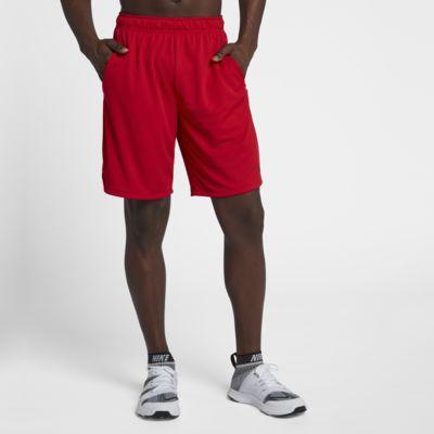 NWT Nike TEAM FITDRY Men/'s Training Shorts Dark Maroon SZ L No Pockets
