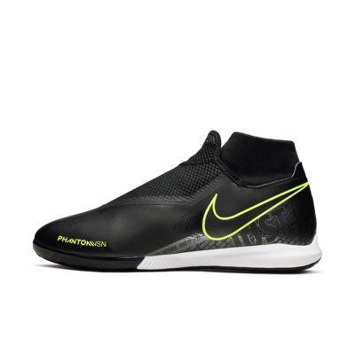 Nike Phantom Vision Academy Dynamic Fit IC fotballsko til innendørsbane/gate