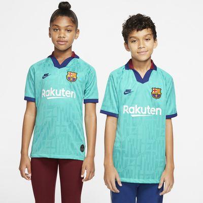 Camiseta de fútbol alternativa para niños talla grande Stadium 2019/20 del FC Barcelona