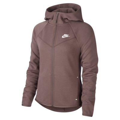 Felpa con cappuccio e zip a tutta lunghezza Nike Sportswear Windrunner Tech Fleece Donna