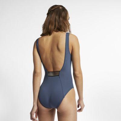 Nike Solid U-Back Women's One-Piece Swimsuit