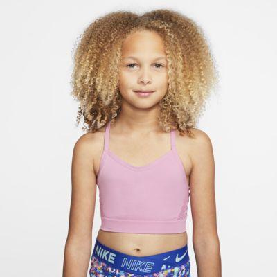 Nike Dri-FIT sports-BH til jente