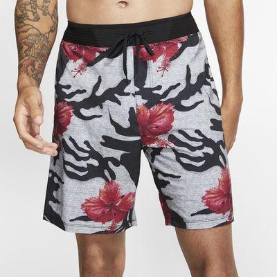Shorts de playa de 45,5 cm para hombre Hurley Phantom Hyperweave Miramar