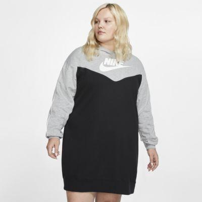 Платье с капюшоном Nike Sportswear Heritage (большие размеры)