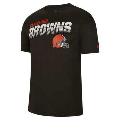 Nike Legend (NFL Browns)-T-shirt med lange ærmer til mænd
