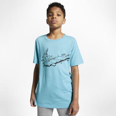 Nike Breathe kortermet treningsoverdel til store barn (gutt)