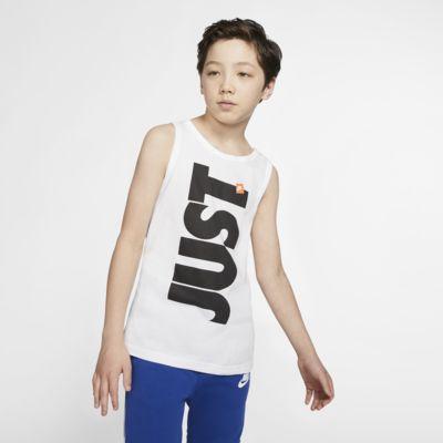 Nike Sportswear Just Do It Big Kids' (Boys') Tank