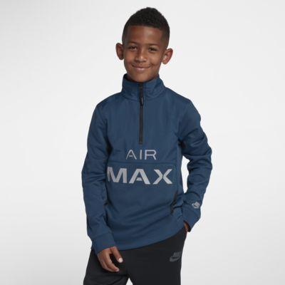 Nike Air Max-træningsjakke til store børn (drenge)