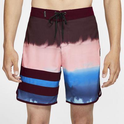 Hurley Phantom Block Party Fever 45,5 cm-es férfi szörfrövidnadrág